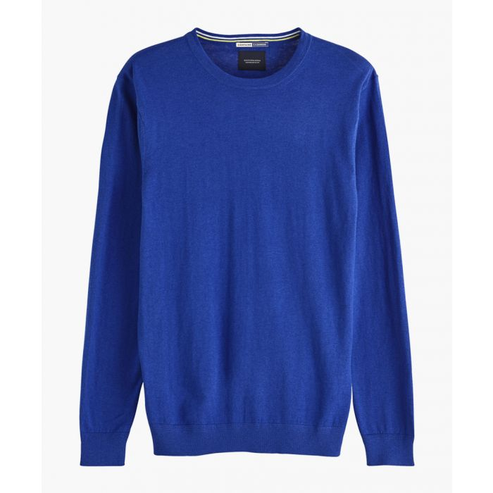 Image for Ams Blauw Yinmin Blue crew neck jumper