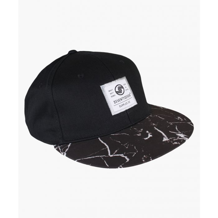 Image for Multi-coloured graphic snapback