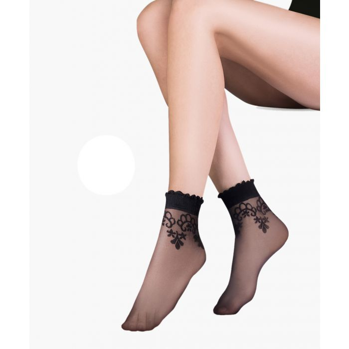 Image for Bea blanc ankle socks 20 denier