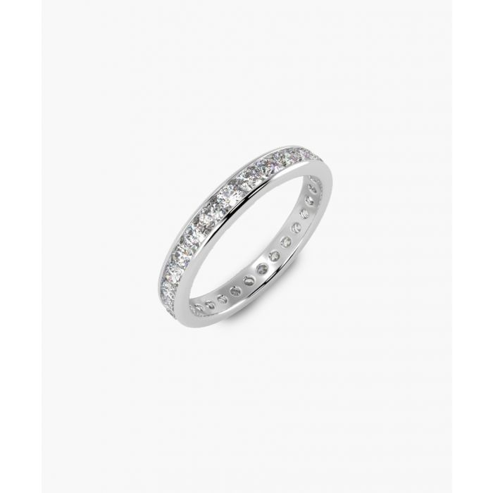 Image for 1.00ct round diamond full eternity ring