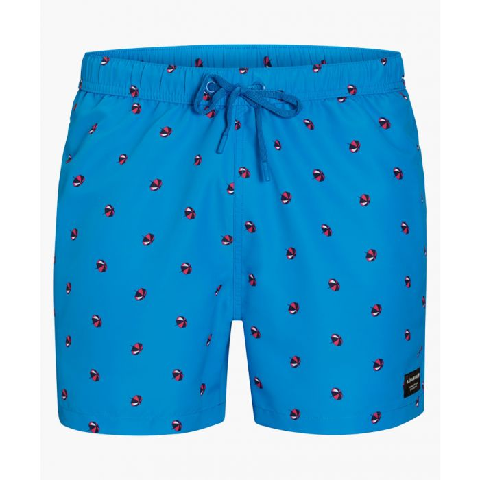 Image for Sylvester blue loose fit shorts