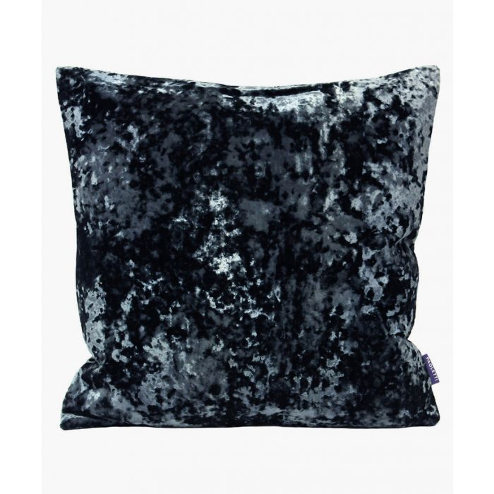 Image for Roma navy textured cushion