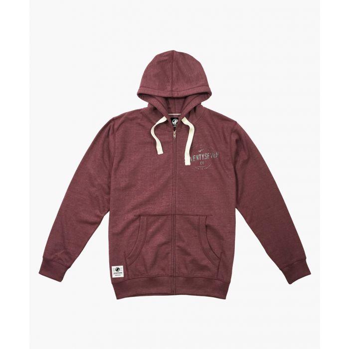Image for Wine zip-up hoodie