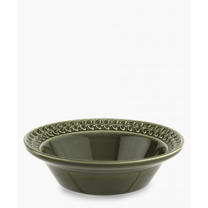 Image for 4pc Botanic Garden Harmony forest green cereal bowl set