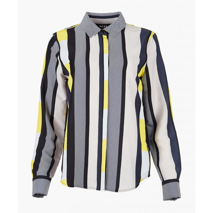 Image for Sun Sphere striped shirt