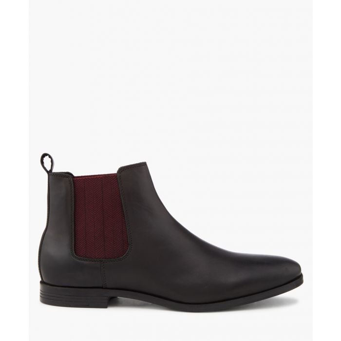 Image for Charing black Chelsea boots