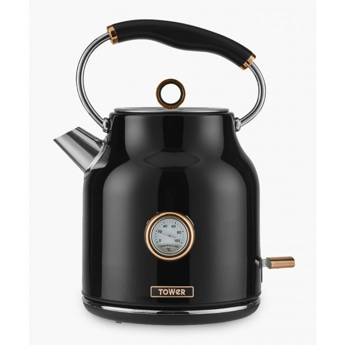 Image for Black stainless steel kettle 1.7L