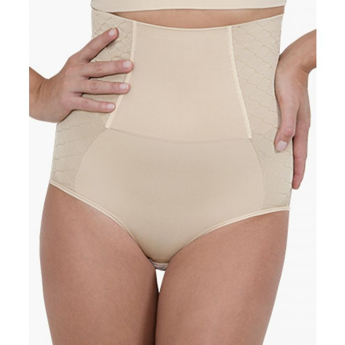 Image for Nude high-compression corset briefs