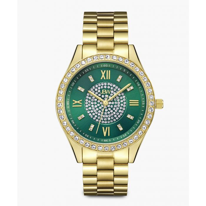 Image for Mondrian 18k gold-plated stainless steel watch