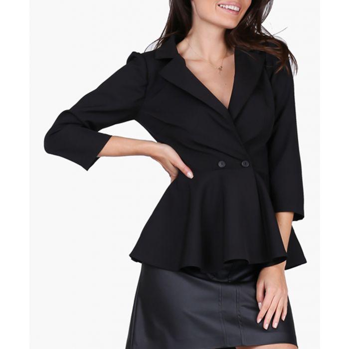 Image for Black woven shirt