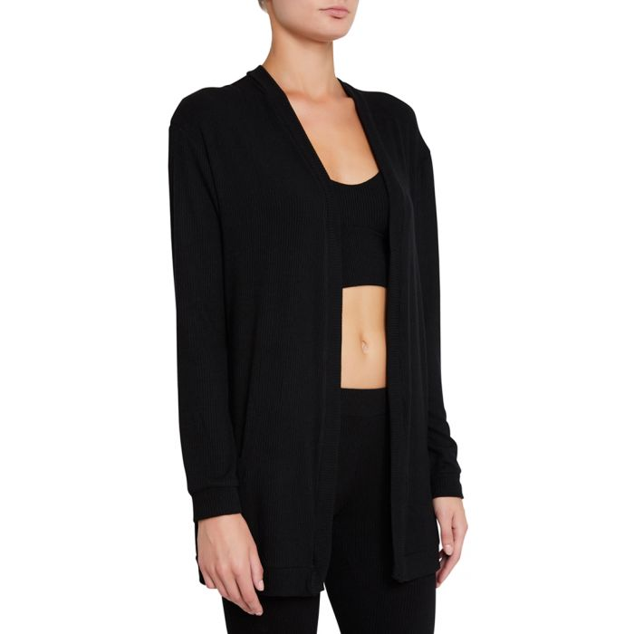 Image for Elon black relaxed cardigan