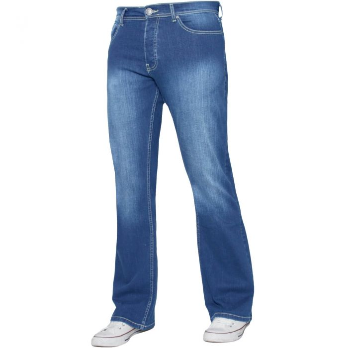 Image for Light blue bootcut jeans