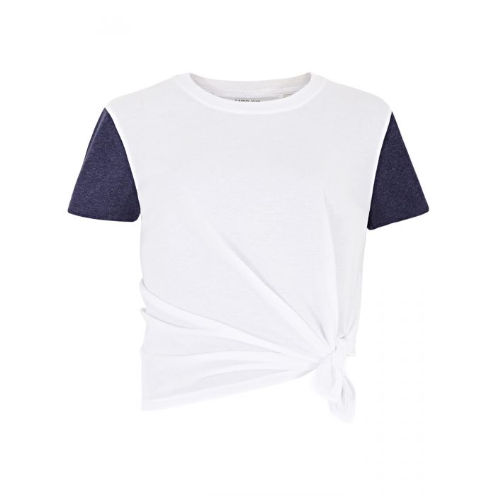 Image for White tuck T-shirt