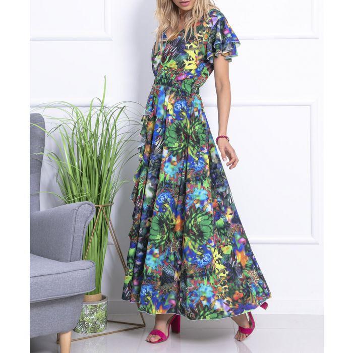 Image for Darkjungle woven dress