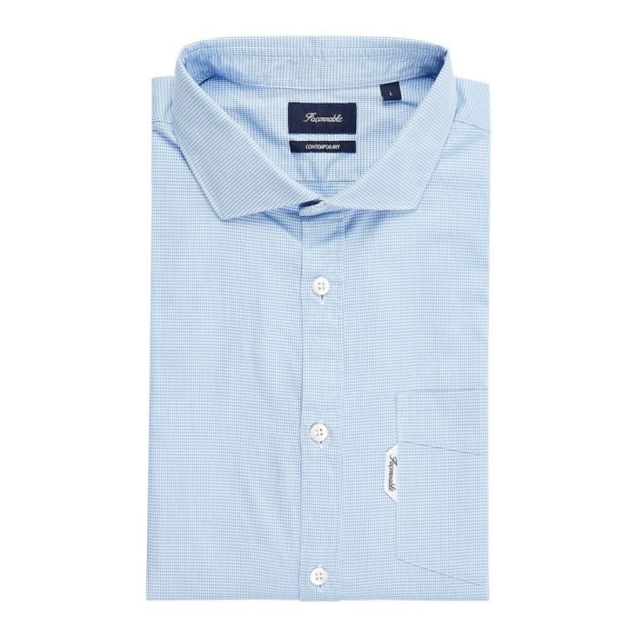 Image for Riviera regal blue button-down shirt