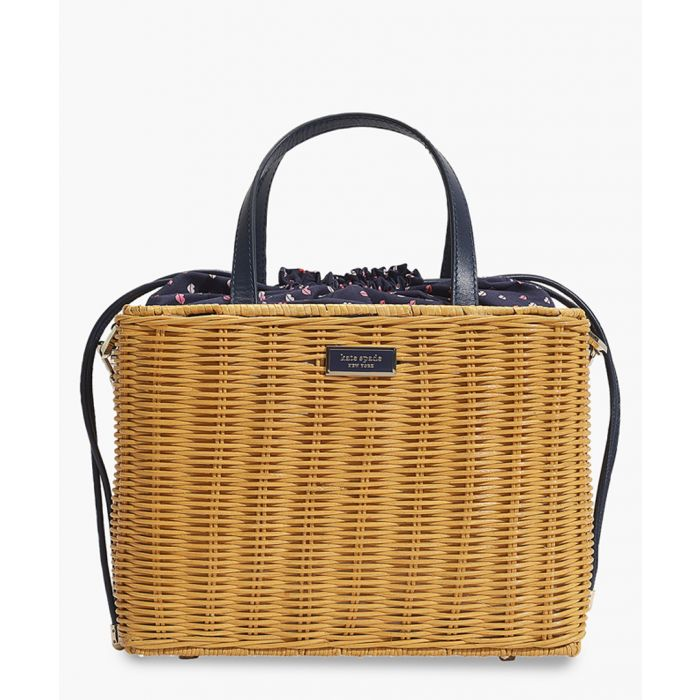 Image for Sam medium wicker satchel
