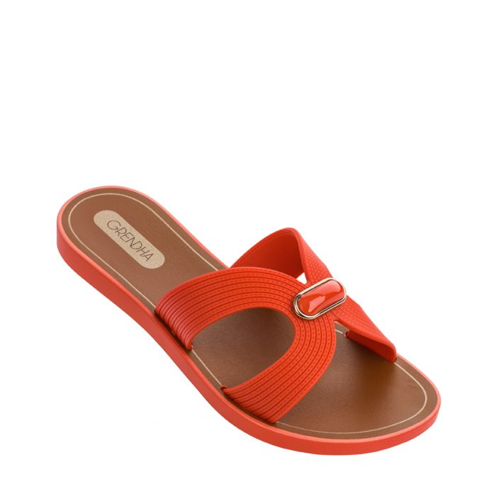 Image for Essence orange sandals