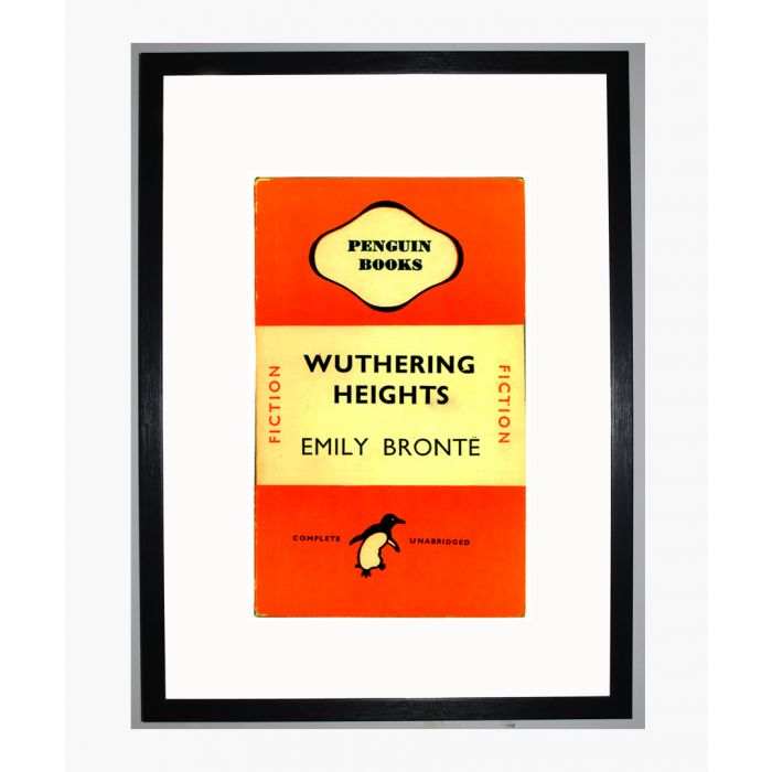 Image for Penguin Books Wuthering Heights Framed Print
