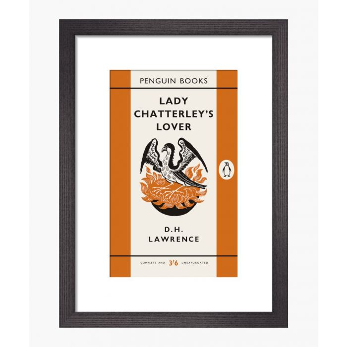 Image for Penguin Books Lady Chatterley's Lover Framed Print
