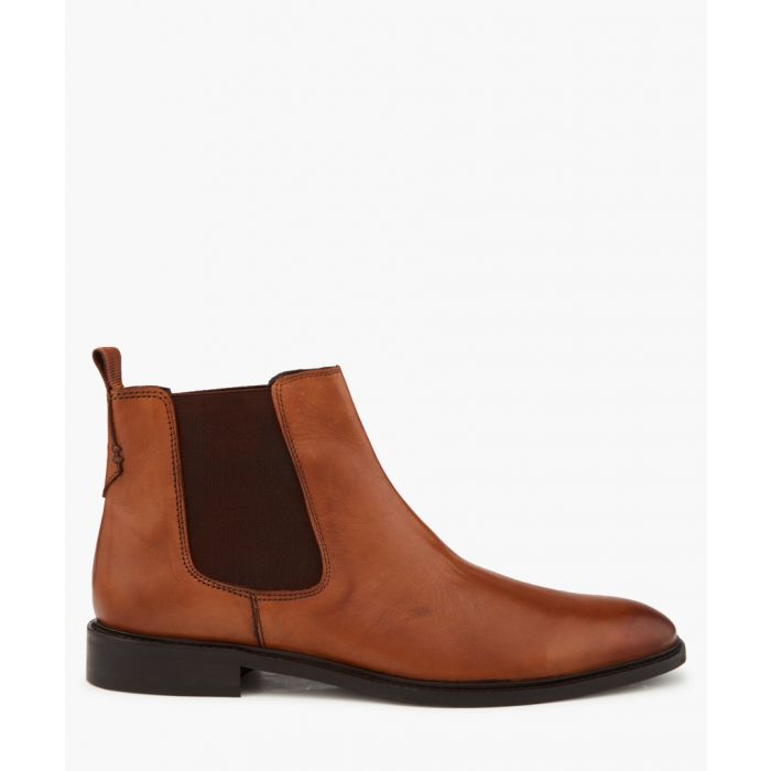 Image for Polisher chestnut Chelsea boots