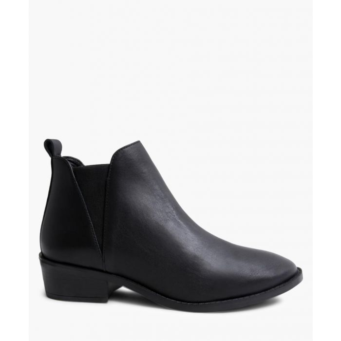 Image for Dante black leather Chelsea boots