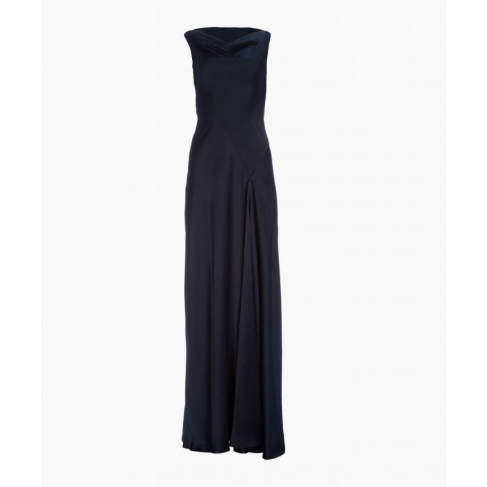 Image for Midnight cowl neck maxi dress