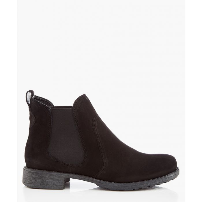 Image for Black leather chelsea boots