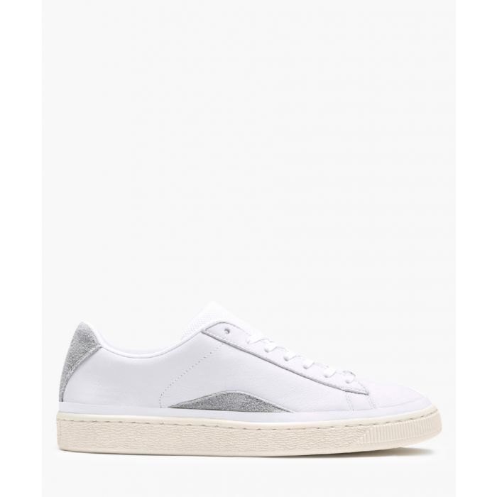 Image for White low-top trainers