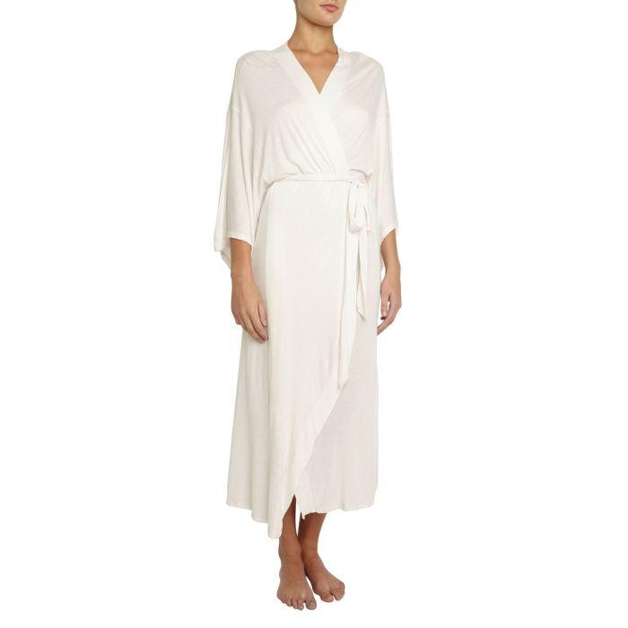 Image for Colette white madame kimono robe