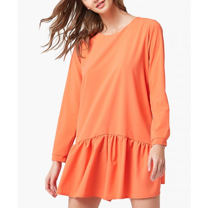 Image for Orange relaxed jumpsuit