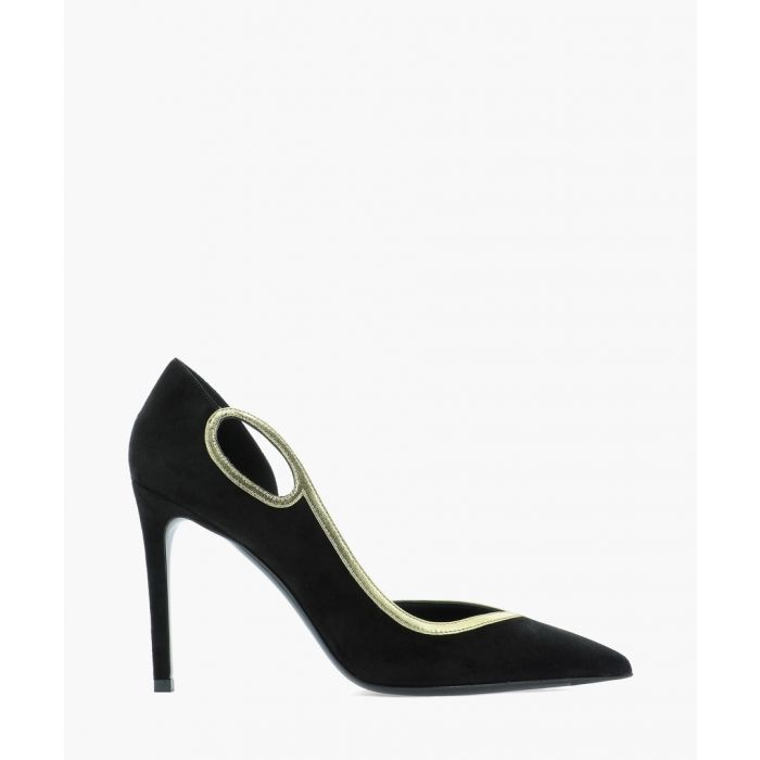Image for Miley black suede pumps