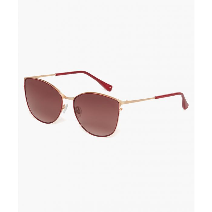 Image for Hope gold and silver-tone sunglasses