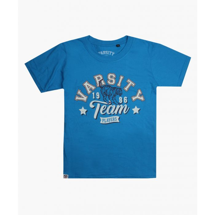 Image for Varsity Team Players blue T-shirt
