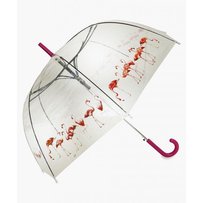 Image for Flamingo flocks pink umbrella