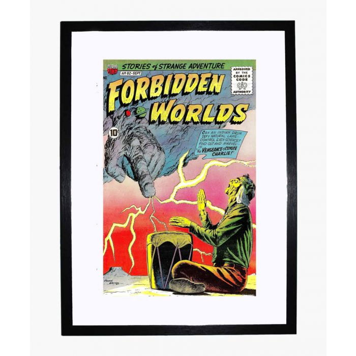 Image for Forbidden Worlds 82 framed print