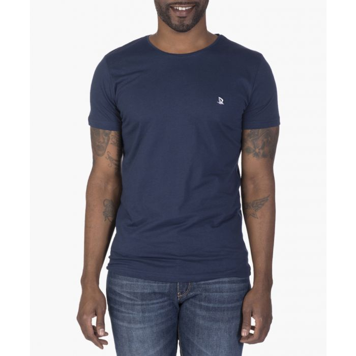 Image for White and navy T-shirt