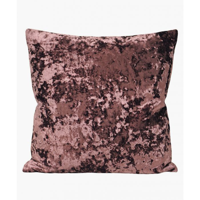 Image for Burgundy textured cushion