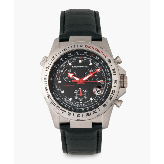 Image for M36 Series silicone and stainless steel chronograph watch