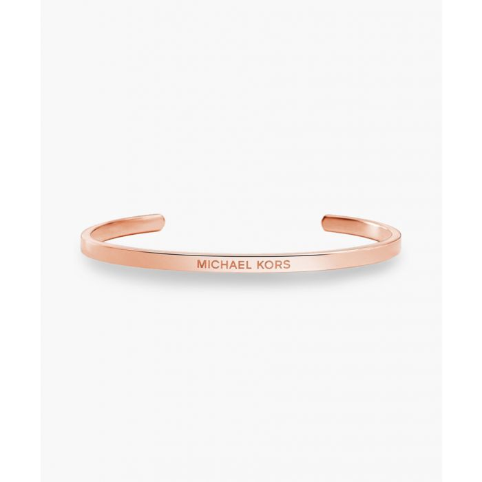 Image for Rose gold-plated cuff bracelet