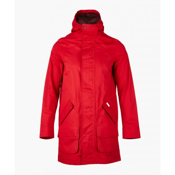 Image for Red cotton coat