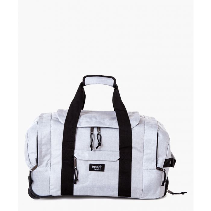 Image for 2pc silver-tone luggage set