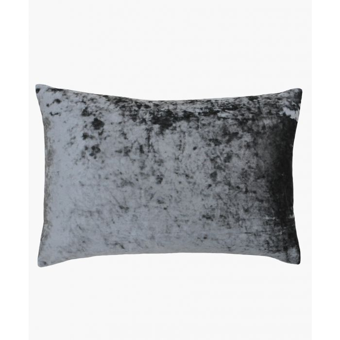 Image for Verona silver-tone cushion 40x60cm