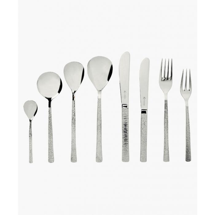 Image for 44pc Studio silver-tone steel set