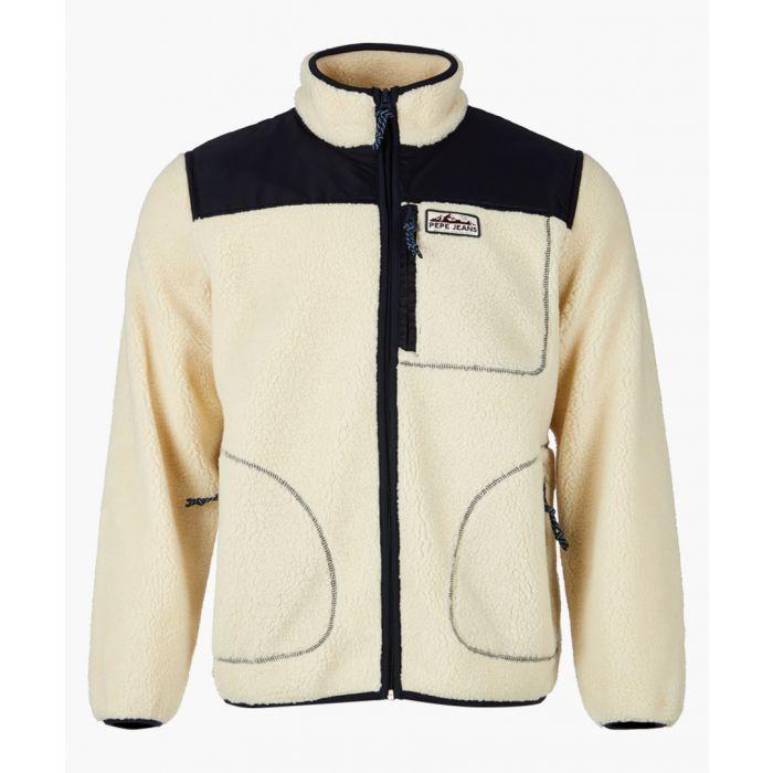 Image for Natural colour block jacket