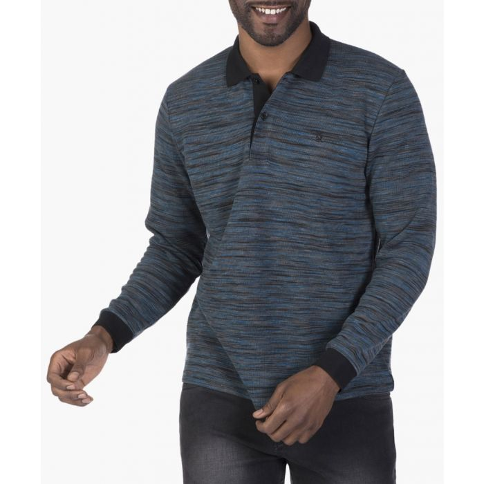 Image for Oil and black polo shirt