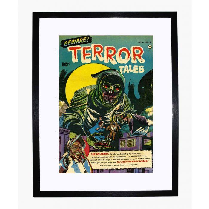 Image for Beware Terror Tales 03 framed print