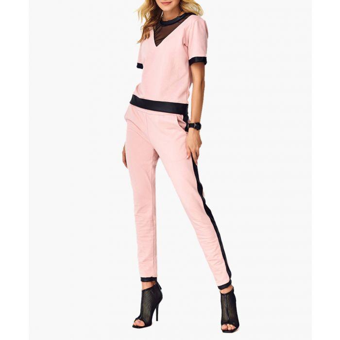 Image for Powder pink cotton blend set