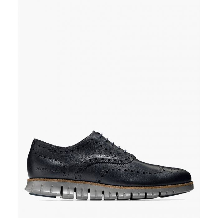 Image for Mens navy Oxford shoes
