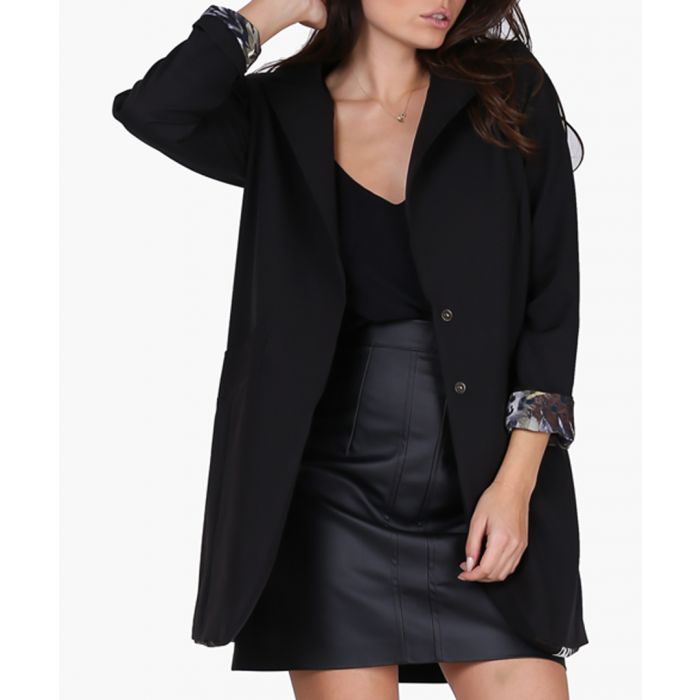 Image for Black Woven Jacket