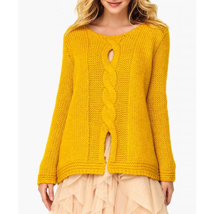 Image for Mustard Wool Blend Jumper